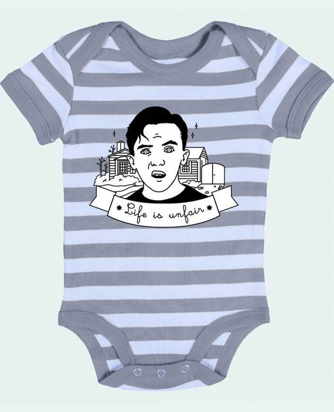 Baby Body striped Malcolm in the middle - tattooanshort
