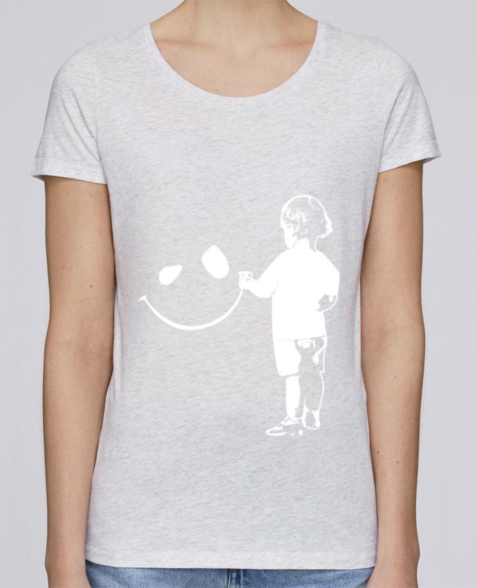 T-shirt Women Stella Loves enfant by Graff4Art
