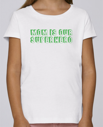 T-shirt Women Stella Draws Mom is our superhero by tunetoo