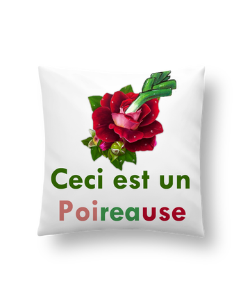 Cushion synthetic soft 45 x 45 cm Poireause by Oan
