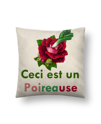 Cushion suede touch 45 x 45 cm Poireause by Oan