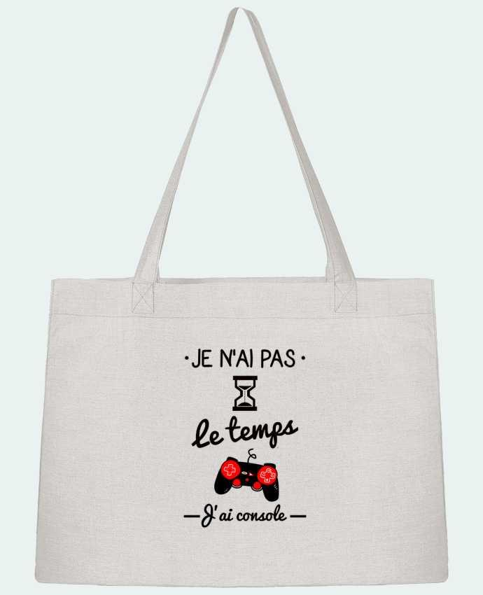 Shopping tote bag Stanley Stella Pas le temps, j
