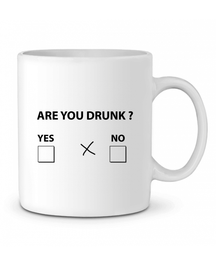 Ceramic Mug Are you drunk by justsayin
