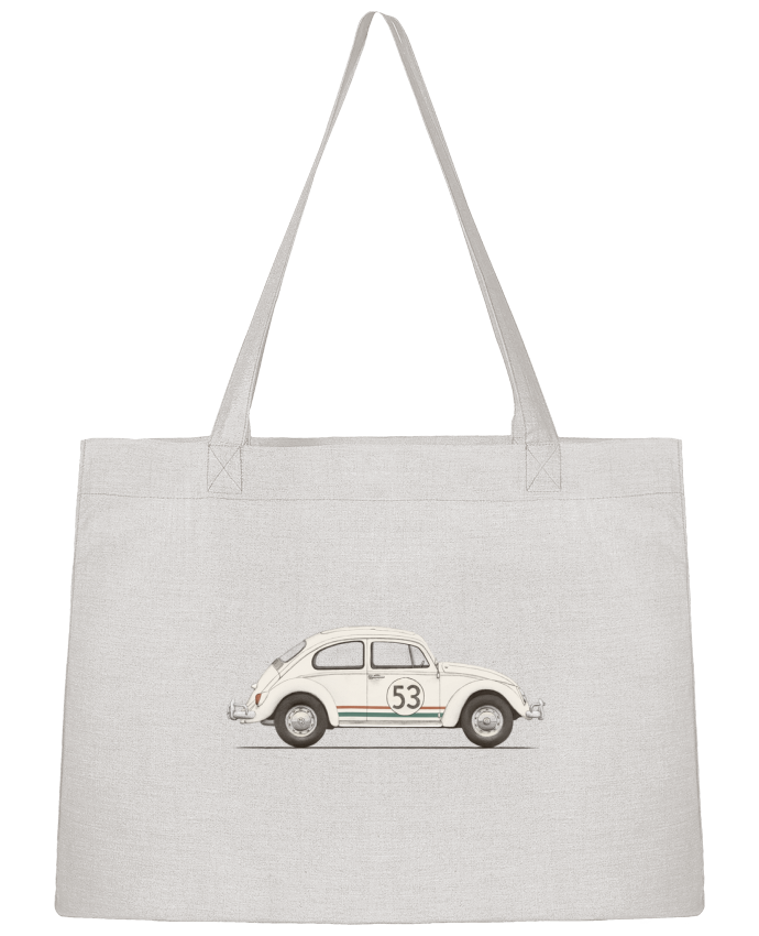 Shopping tote bag Stanley Stella Herbie big by Florent Bodart