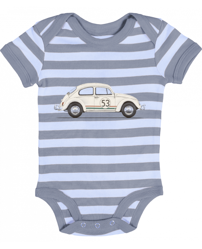 Baby Body striped Herbie big - Florent Bodart