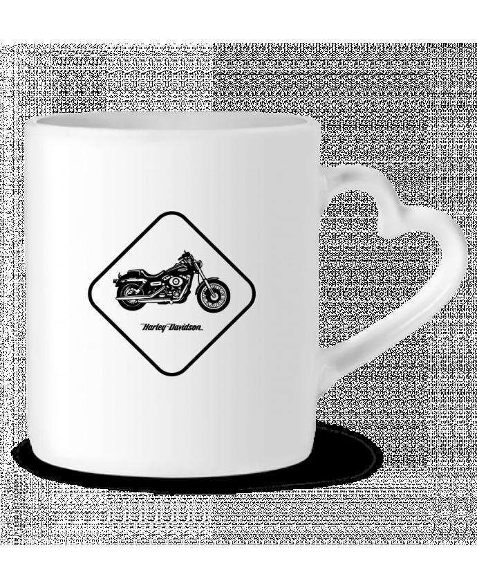 Mug Heart Harley Davidson by Likagraphe