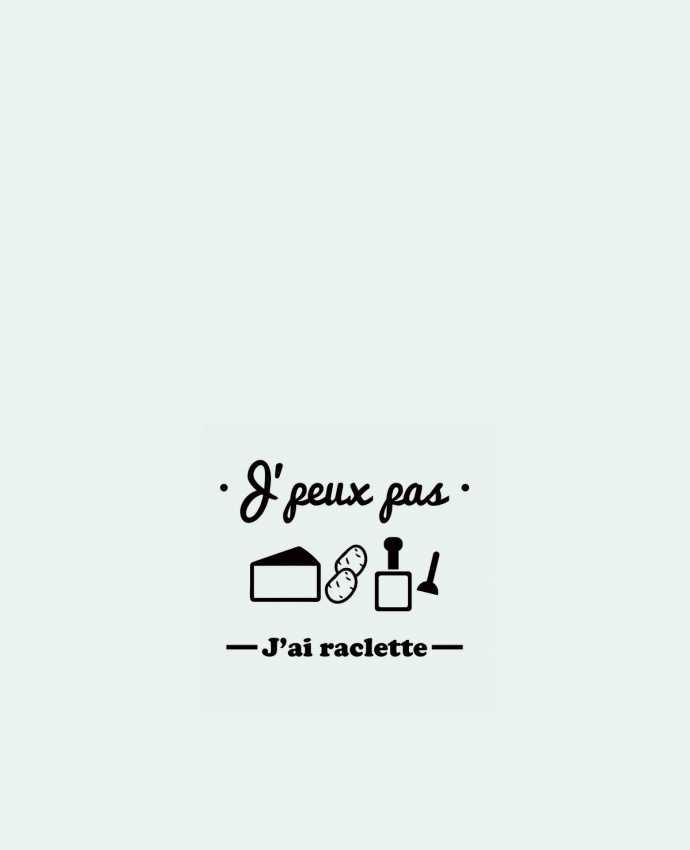 Tote Bag cotton J'peux pas j'ai raclette by Benichan