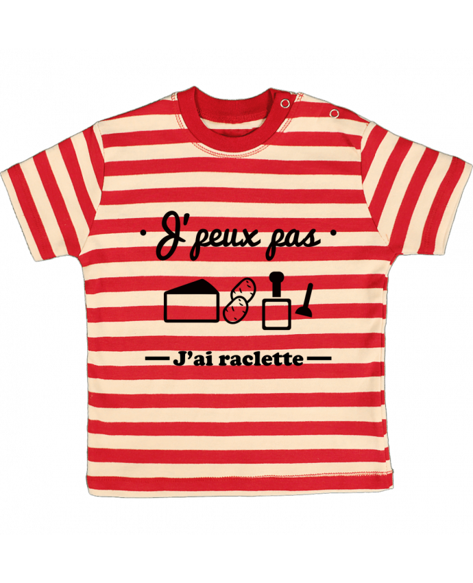 T-shirt baby with stripes J