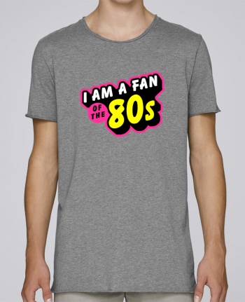 T-shirt Men Oversized Stanley Skates I'am a fan of the 80s by MasterChef