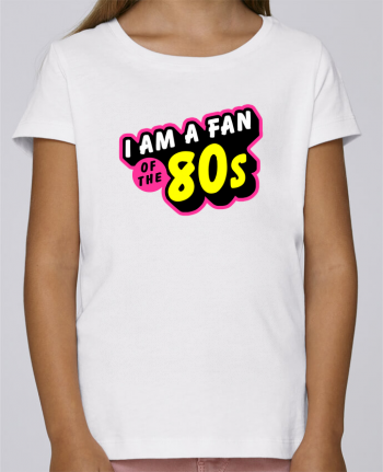 T-shirt Women Stella Draws I'am a fan of the 80s by MasterChef