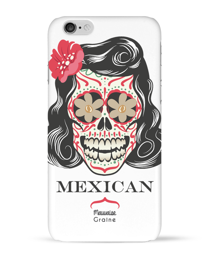 Case 3D iPhone 6 Mexican crane by Mauvaise Graine