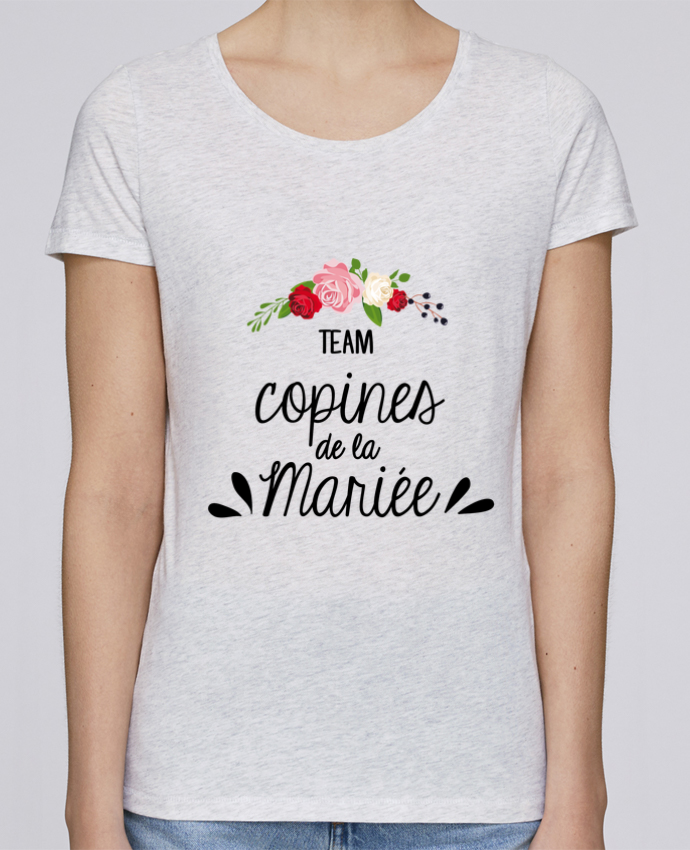 T-shirt Women Stella Loves TEAM COPINES DE LA MARIEE by FRENCHUP-MAYO