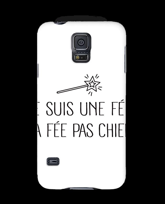 Case 3D Samsung Galaxy S5 Je suis une fée la fée pas chier by Freeyourshirt.com