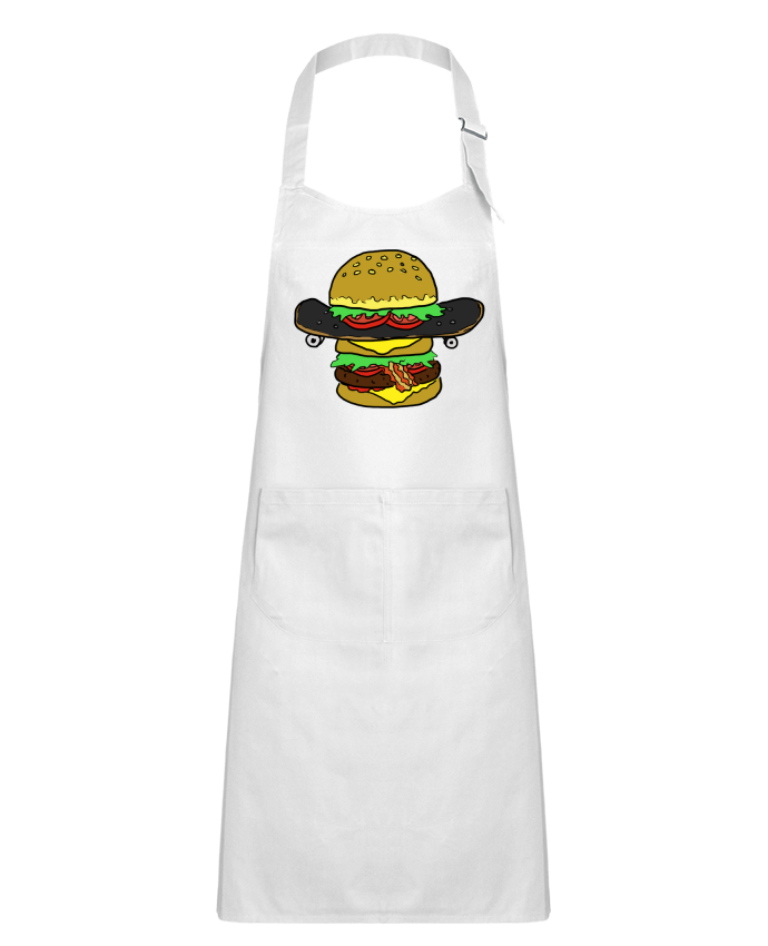 Kids chef pocket apron Skateburger by Salade