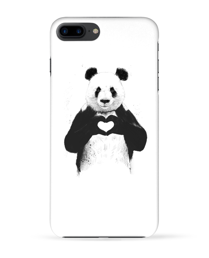 Case 3D iPhone 7+ All you need is love by Balàzs Solti