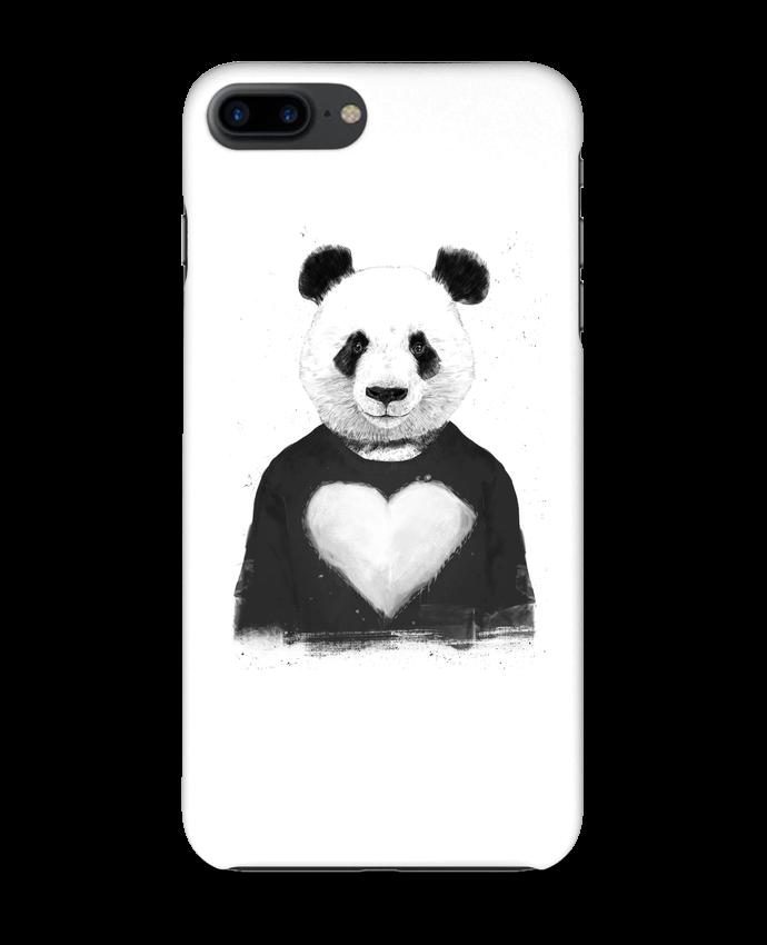 Case 3D iPhone 7+ lovely_panda by Balàzs Solti