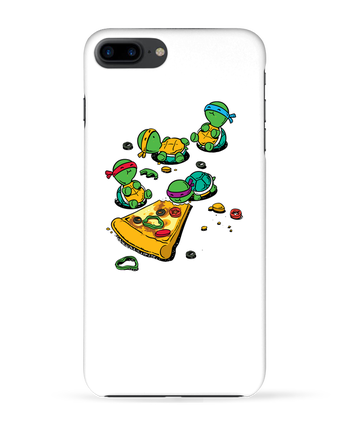 Case 3D iPhone 7+ Pizza lover by flyingmouse365