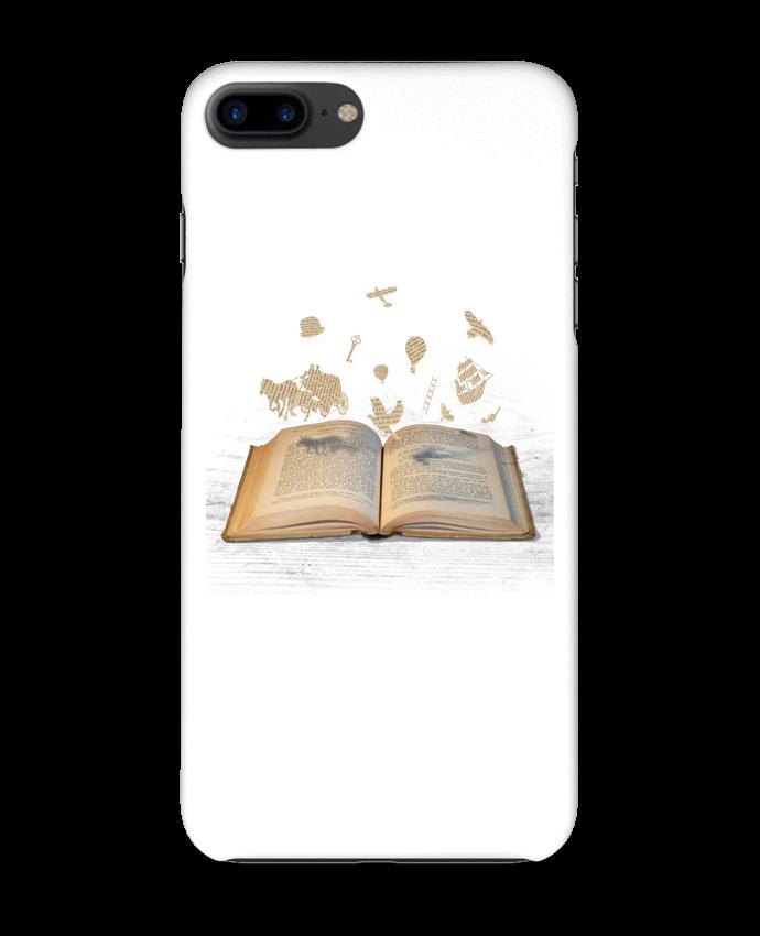 Case 3D iPhone 7+ Words take flight by Florent Bodart