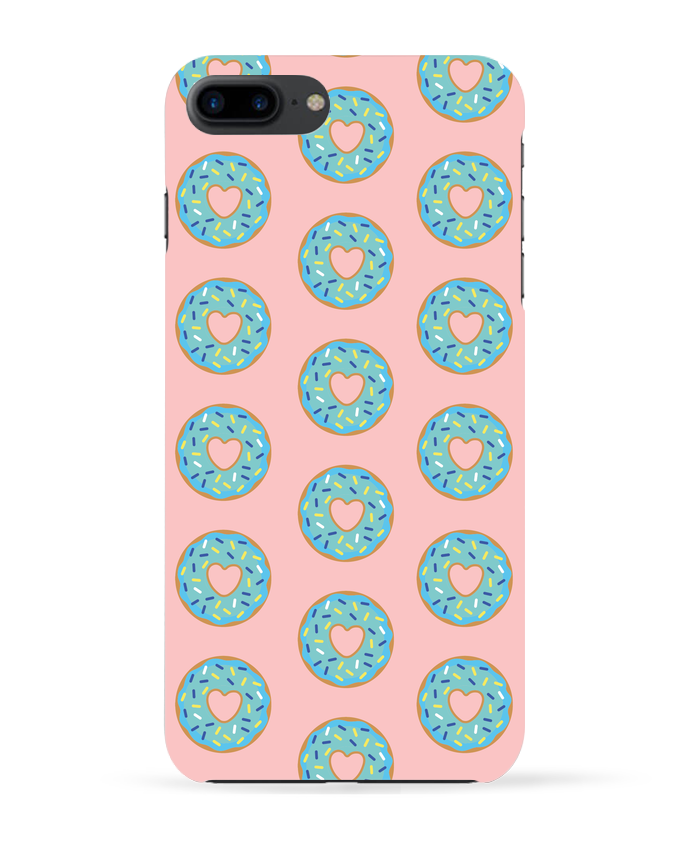 Case 3D iPhone 7+ Donut coeur by tunetoo