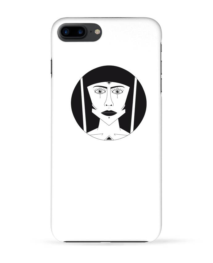 Case 3D iPhone 7+ Visage géométrique by Ambrestr