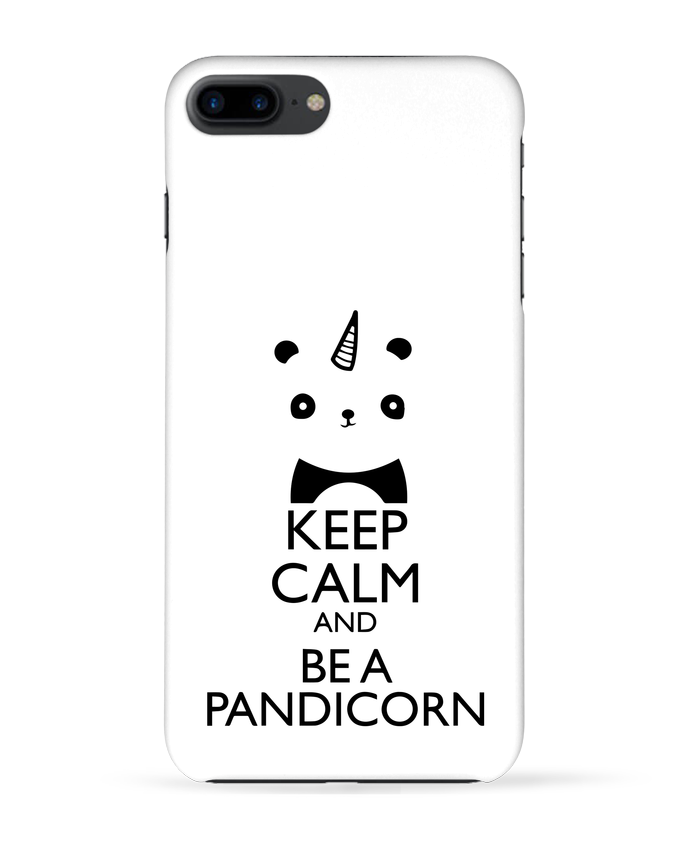 Case 3D iPhone 7+ keep calm and be a Pandicorn by tunetoo