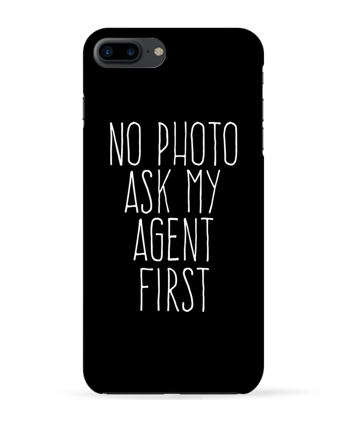 Case 3D iPhone 7+ No photo ask my agent by justsayin