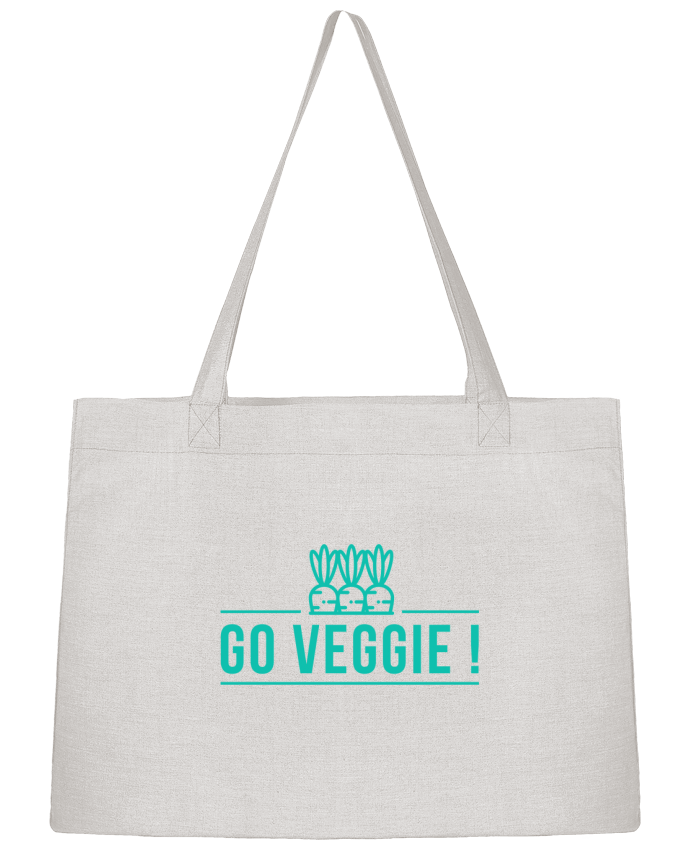 Shopping tote bag Stanley Stella Go veggie ! by Folie douce