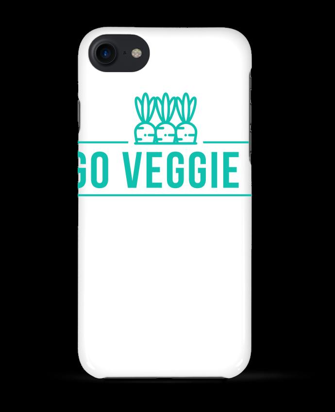 Case 3D iPhone 7 Go veggie ! de Folie douce