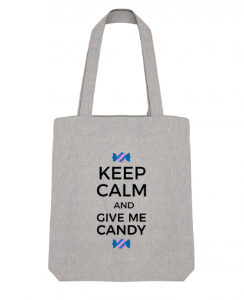 Tote Bag Stanley Stella Keep Calm and give me candy by tunetoo