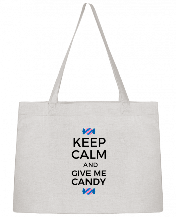 Shopping tote bag Stanley Stella Keep Calm and give me candy by tunetoo