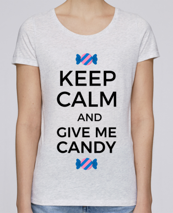 T-shirt Women Stella Loves Keep Calm and give me candy by tunetoo