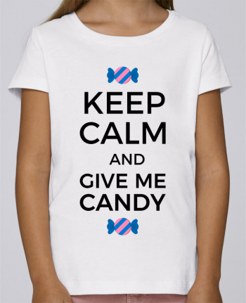 T-shirt Women Stella Draws Keep Calm and give me candy by tunetoo