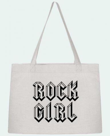 Shopping tote bag Stanley Stella Rock Girl by Freeyourshirt.com