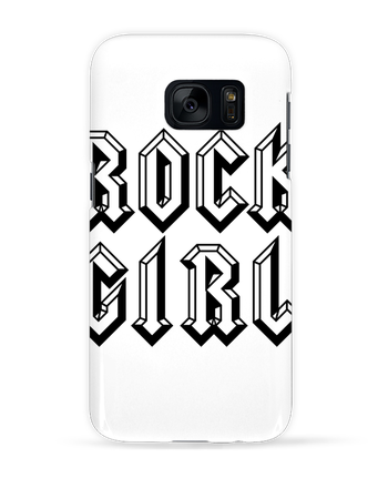 Case 3D Samsung Galaxy S7 Rock Girl by Freeyourshirt.com