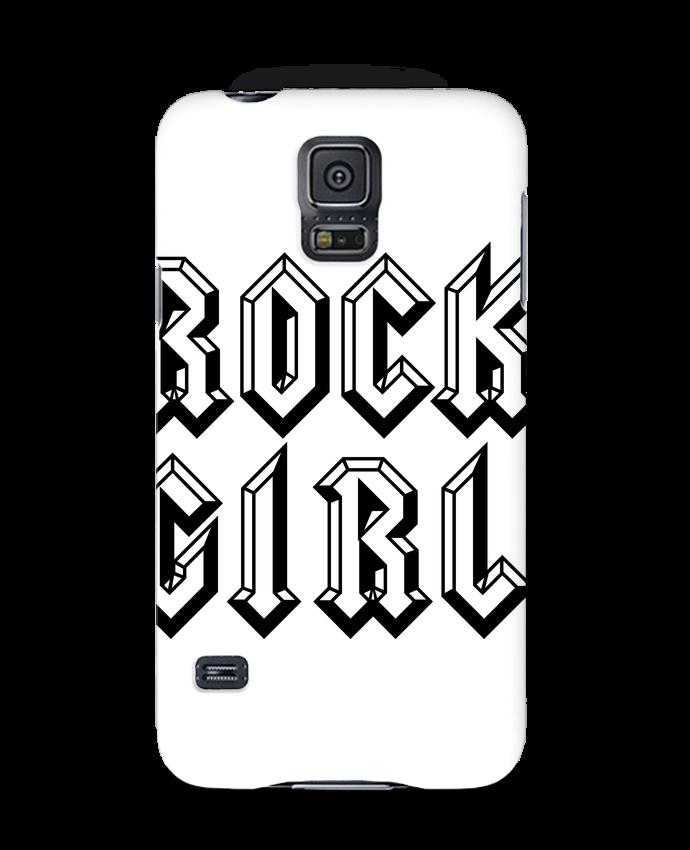 Case 3D Samsung Galaxy S5 Rock Girl by Freeyourshirt.com