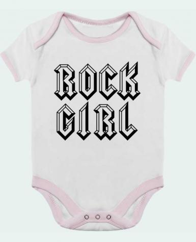 Baby Body Contrast Rock Girl by Freeyourshirt.com
