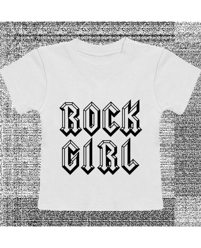 T-Shirt Baby Short Sleeve Rock Girl manches courtes du designer Freeyourshirt.com