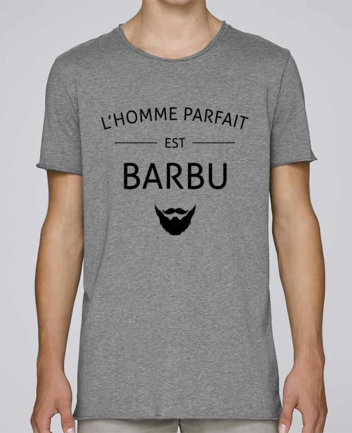 T-shirt Men Oversized Stanley Skates L'homme byfait est barbu by LPMDL