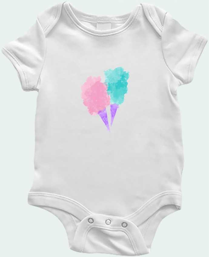 Baby Body Watercolor Cotton Candy by PinkGlitter