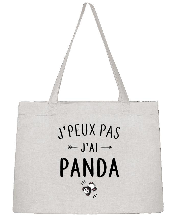 Shopping tote bag Stanley Stella J'peux pas j'ai panda by LPMDL