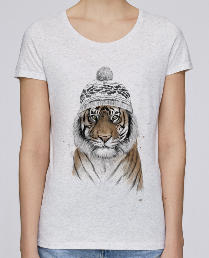 T-shirt Women Stella Loves Siberian tiger by Balàzs Solti