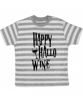 T-shirt baby with stripes Hallowine by mini09