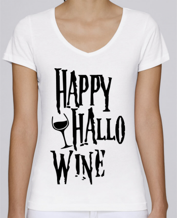 T-Shirt V-Neck Women Stella Chooses Hallowine by mini09