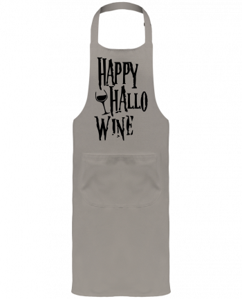 Garden or Sommelier Apron with Pocket Hallowine by mini09