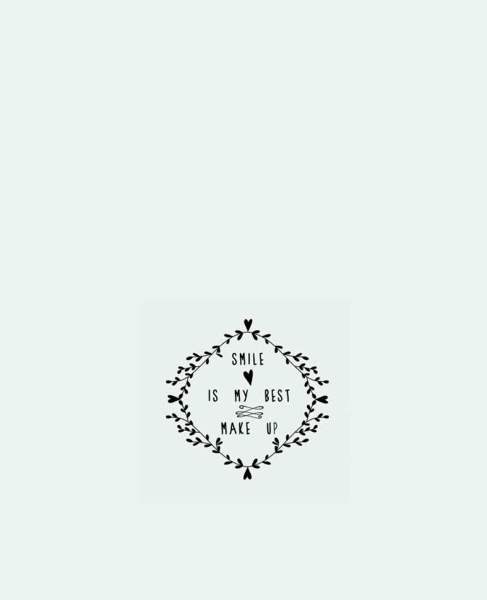 Tote Bag cotton Smile is my best make up by Les Caprices de Filles