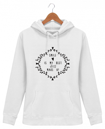 Hoodie Women Smile is my best make up - Les Caprices de Filles