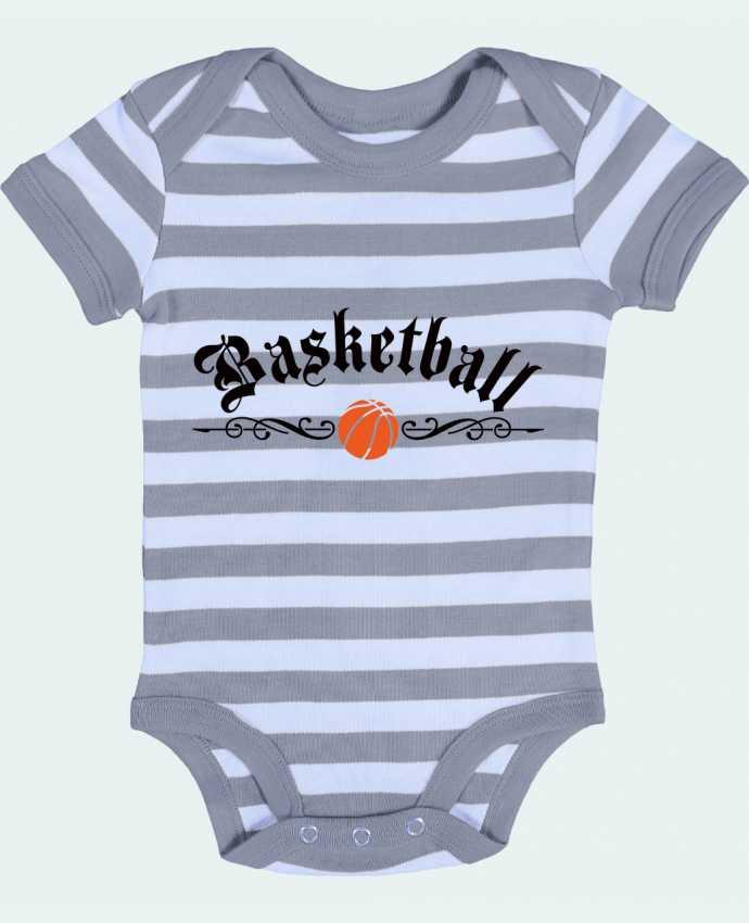 Baby Body striped Basketball - Freeyourshirt.com
