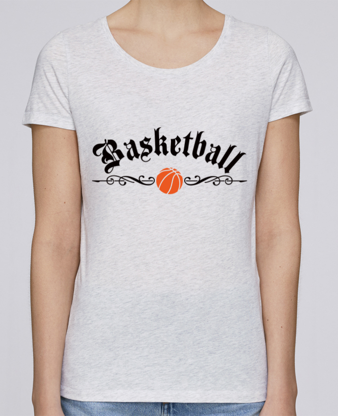 T-shirt Women Stella Loves Basketball by Freeyourshirt.com