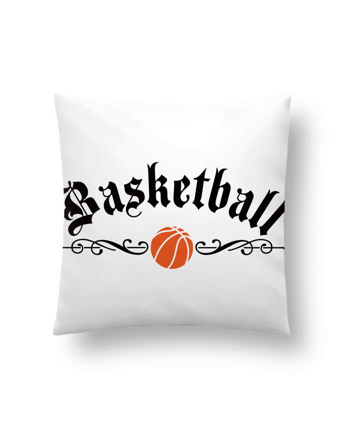 Cushion synthetic soft 45 x 45 cm Basketball by Freeyourshirt.com
