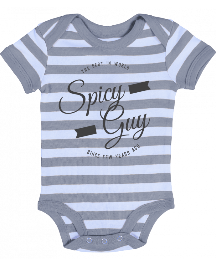 Baby Body striped Spicy guy - Les Caprices de Filles